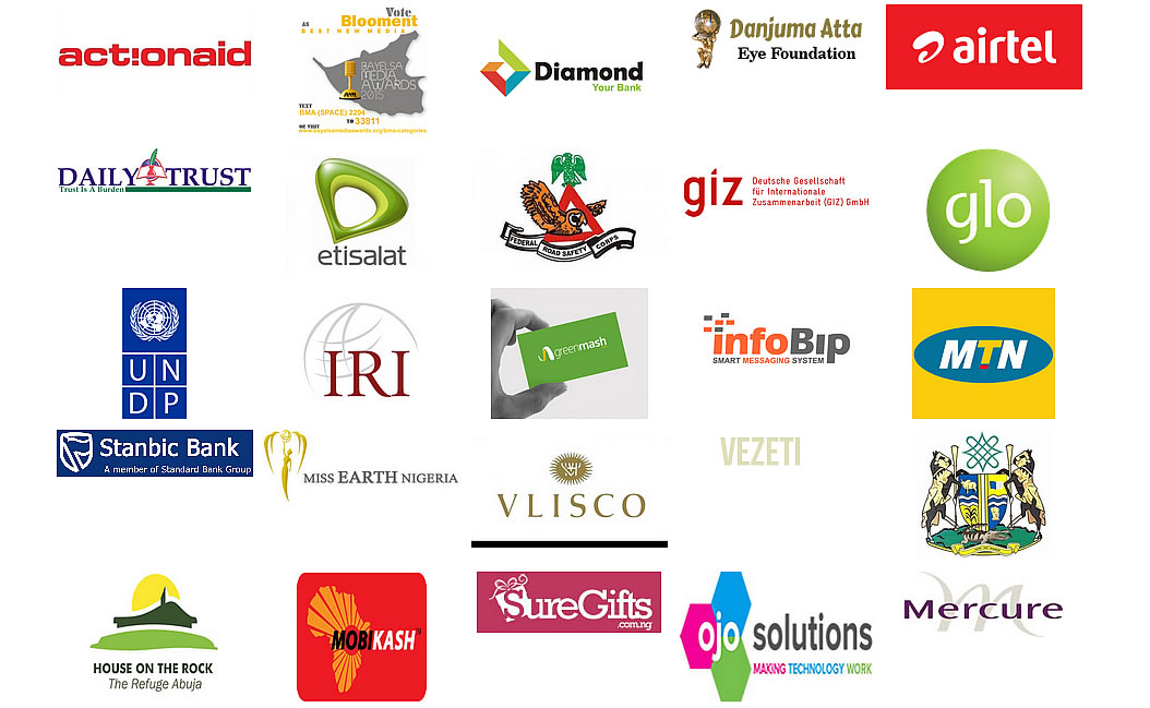 Some of our clients at Short Code Nigeria