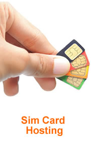 Sim Card Hosting. Also Known as Long Code SMS